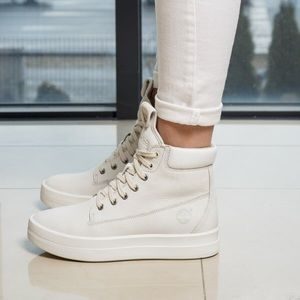 Timberland Booties White Mayliss Lace Ankle Boots